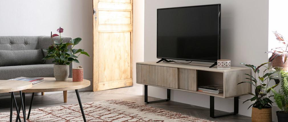 Mueble TV en mango ITER