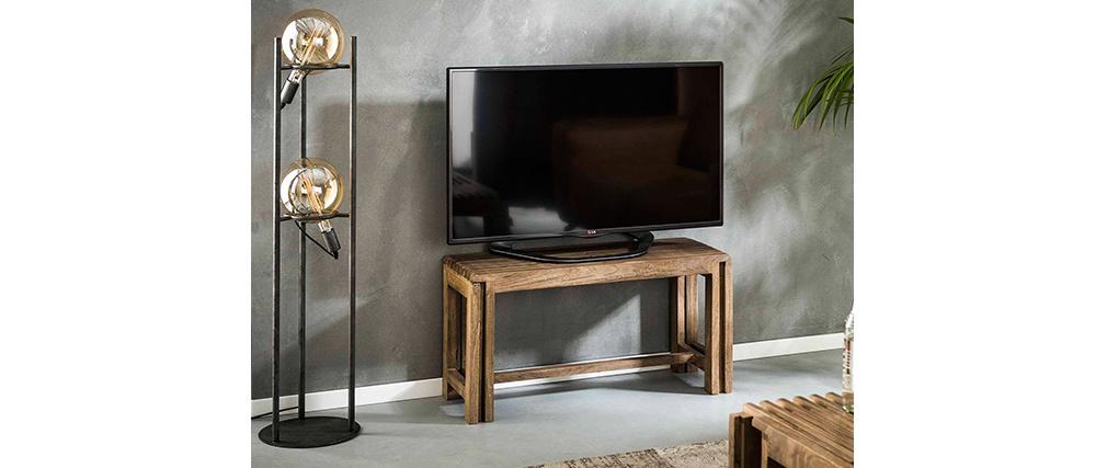 Mueble TV extensible en mango SHUTTERS
