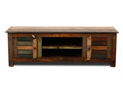 Mueble TV madera reciclada MAYOTTE