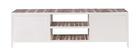 Mueble TV madera y metal blanco 150cm ROCHELLE