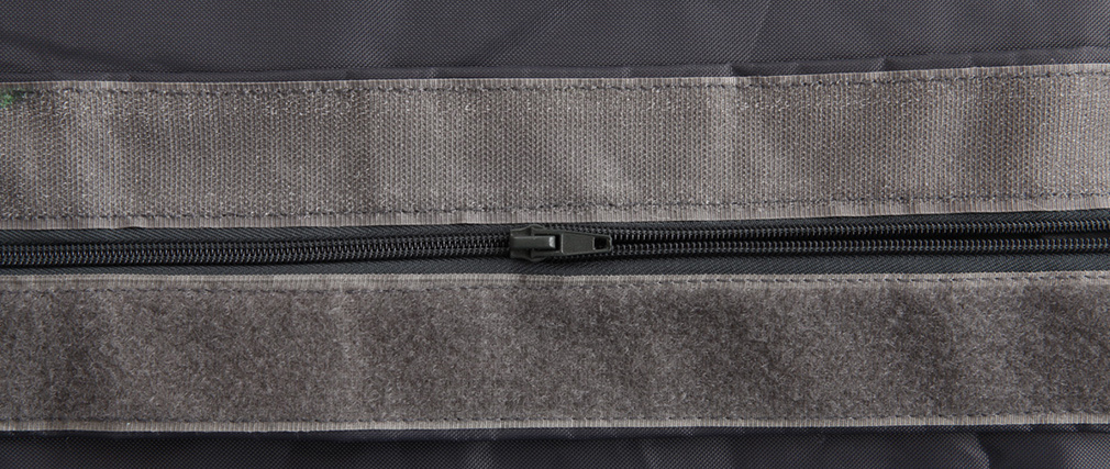Puf gigante de diseño gris BIG MILIBAG