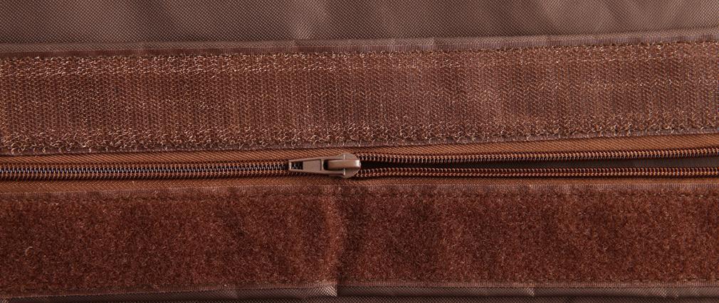 Puf gigante de diseño marrón BIG MILIBAG