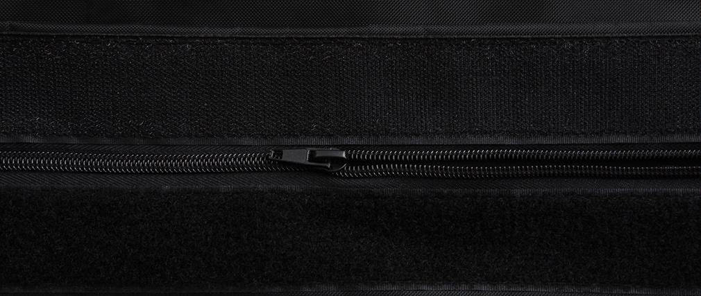 Puf gigante de diseño negro BIG MILIBAG