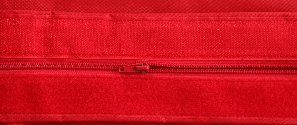 Puf gigante de diseño rojo BIG MILIBAG