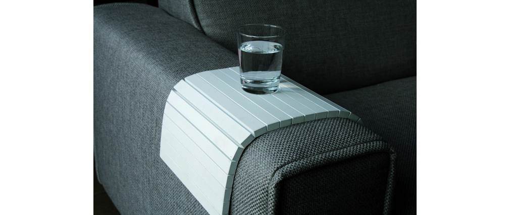 Reposabrazos para sofá FLEX blanco