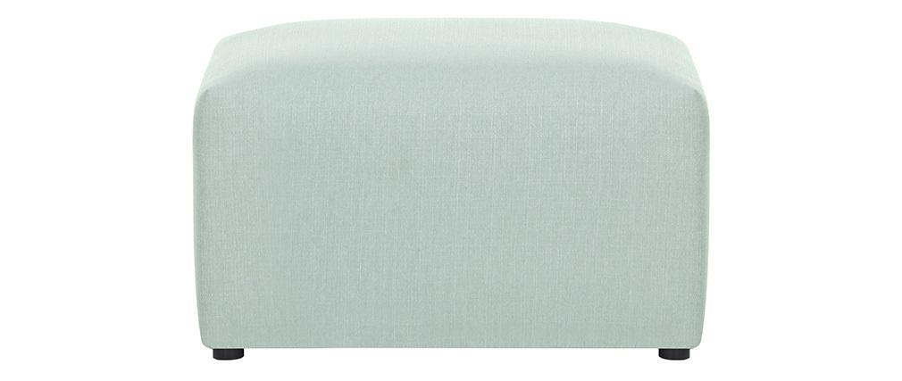 Reposapiés moderno tejido azul claro MODULO