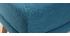 Reposapiés puff nórdico azul petroleo OSLO