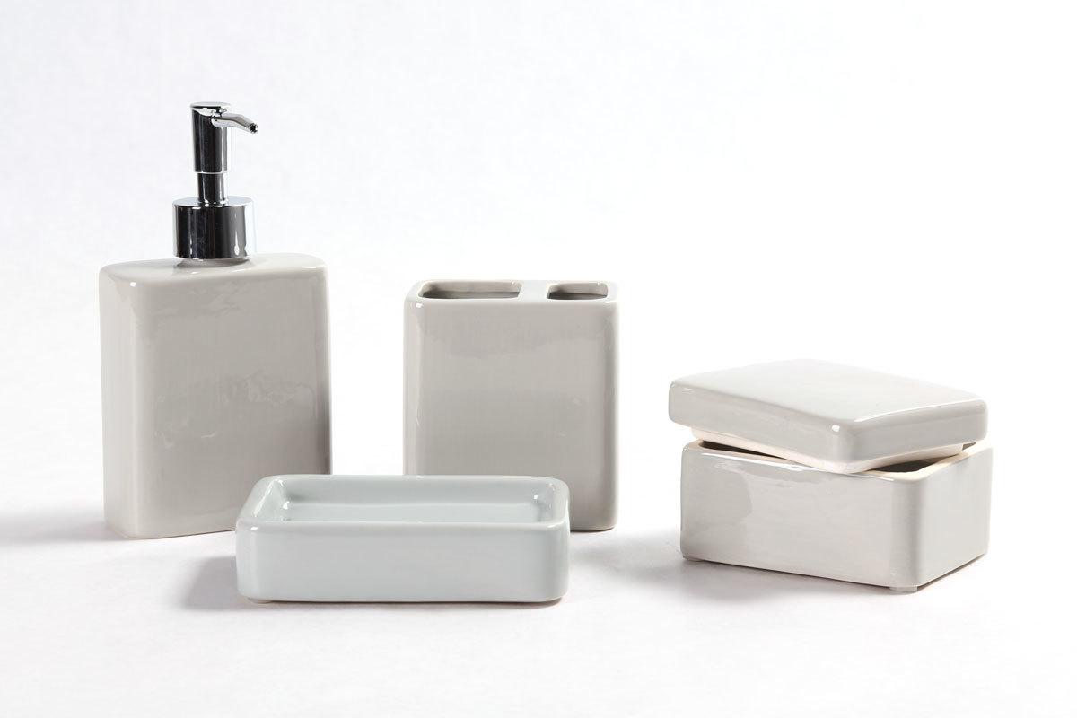 Accesorios de ba o de ceramica for Accesorios bano diseno