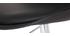 Silla de diseño con ruedas negro NEW STEEVY