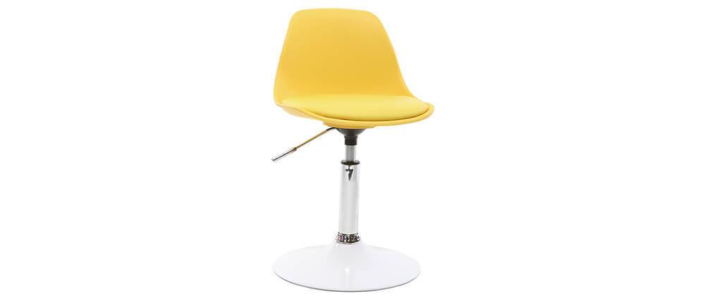 Silla de escritorio diseño infantil amarillo STEEVY