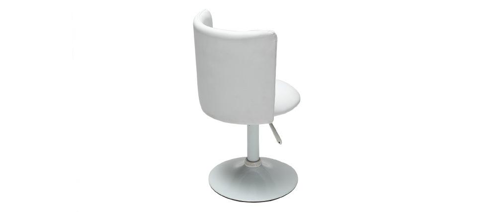 Silla de escritorio infantil blanca NEW ROCK