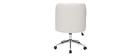 Silla de escritorio moderna blanca SCARLETT