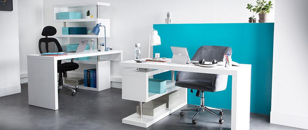 Silla de oficina ergonómica gris Ultimate v2 plus