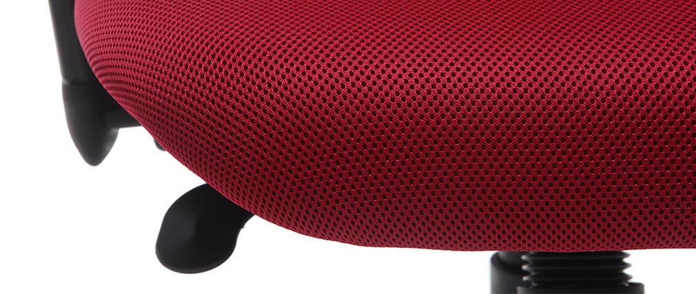 Silla de oficina ergonómica roja ULTIMATE V2