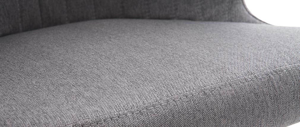 Silla diseño en tejido gris oscuro REQUIEM