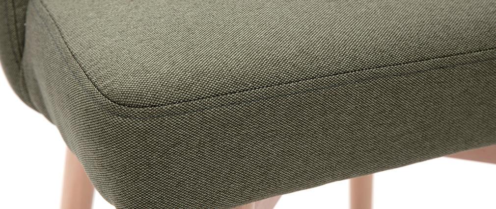 Silla nórdica en tejido kaki LIV