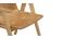 Sillas diseño escandinavo roble lote de 2 DANA