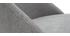 Sillas en tejido efecto terciopelo gris (lote de 2) ELLO