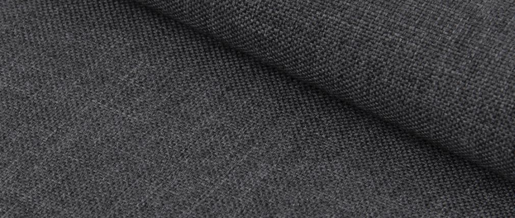 Sillas en tejido gris antracita (Lote de 4) LUCKY