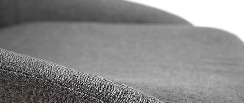 Sillas en tejido gris clato (lote de 2) HOLO
