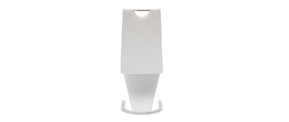 Sillas modernas color blanco (lote de 2) ANGY