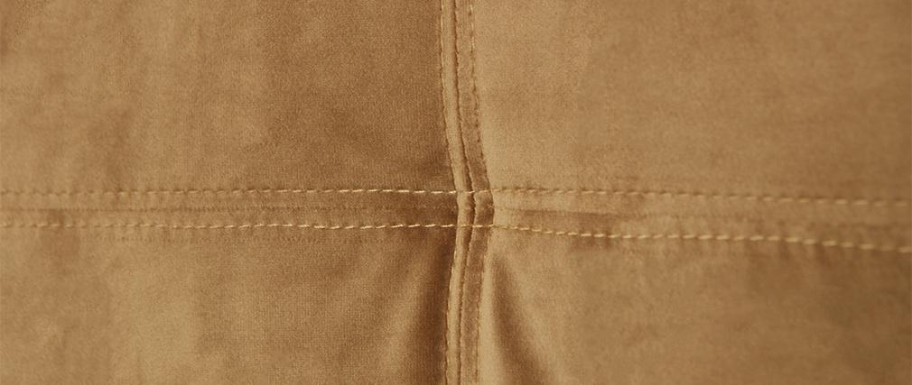 Sillas modernas en terciopelo camel (lote de 2) GAB