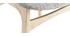 Sillas nórdicas en madera clara y tejido gris (lote de 2) ELTON