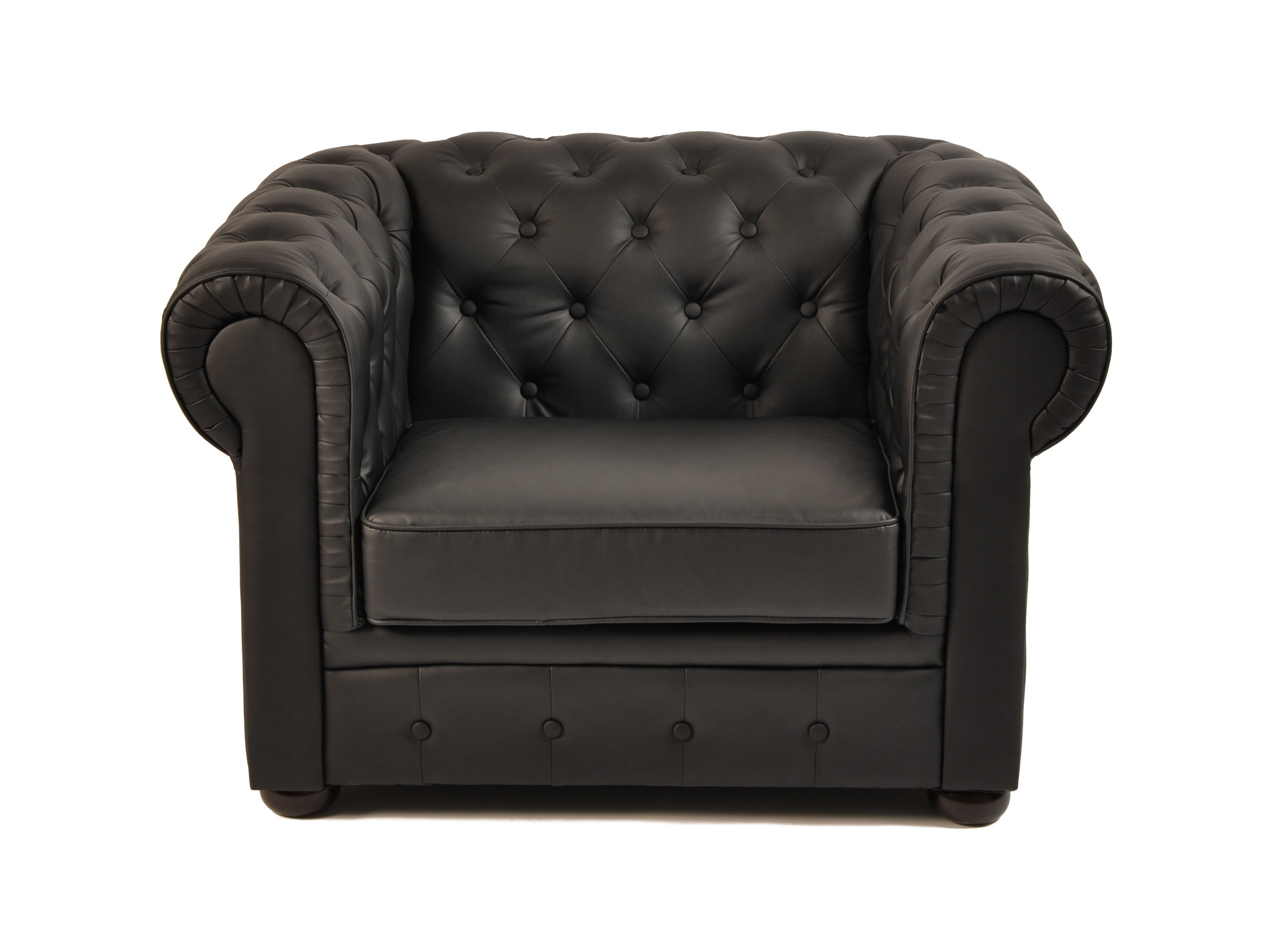 Sill N Chesterfield Color Negro Miliboo