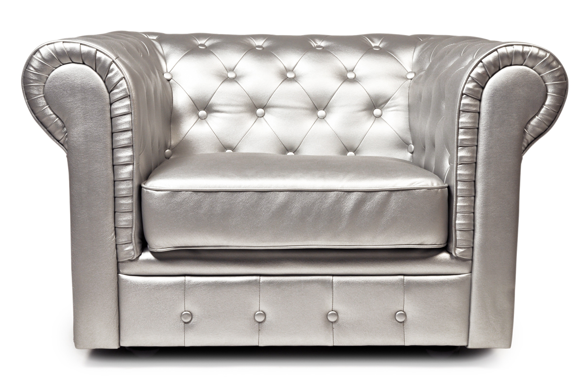 Sill N Chesterfield Color Plata Miliboo