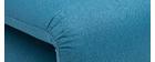 Sillón convertible 2 plazas azul petróleo SLEEPER