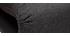 Sillón convertible 2 plazas diseño gris antracita SLEEPER