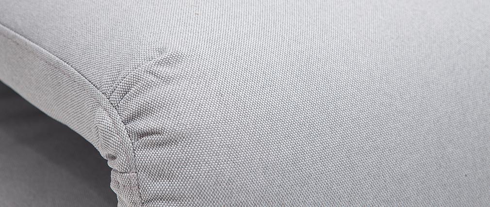 Sillón convertible gris claro 2 plazas SLEEPER
