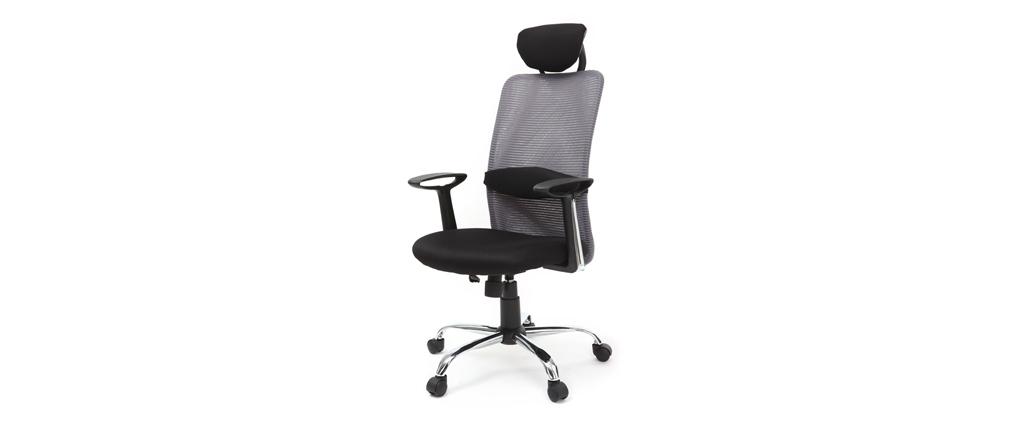 Sillón de despacho diseño gris ADAPT