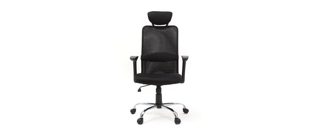 Sillón de despacho diseño negro ADAPT