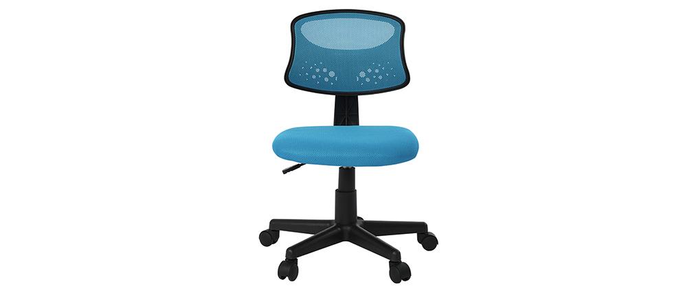 Sillón de despacho niño malla azul - MEL