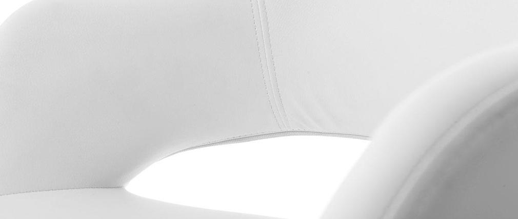 Sillón de diseño blanco JESSY