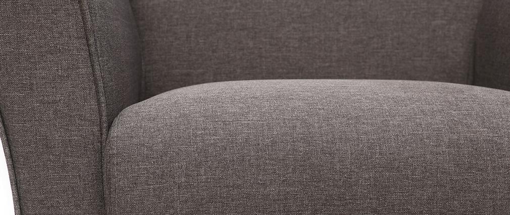 Sillón de diseño shabby gris  MELI