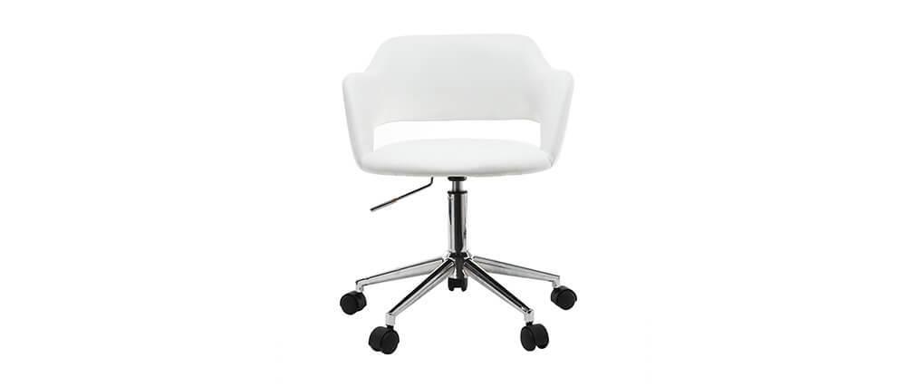 Sillón de escritorio diseño blanco JESSY