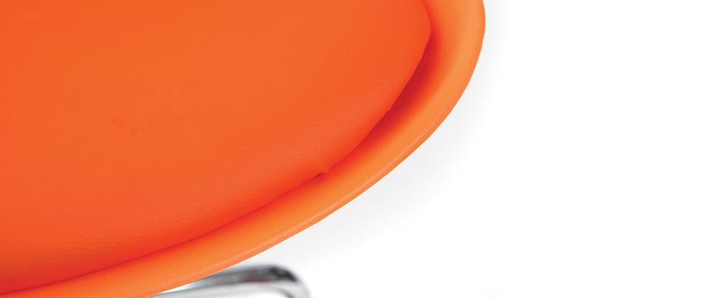 Sillón de escritorio diseño naranja NEW STEEVY V2