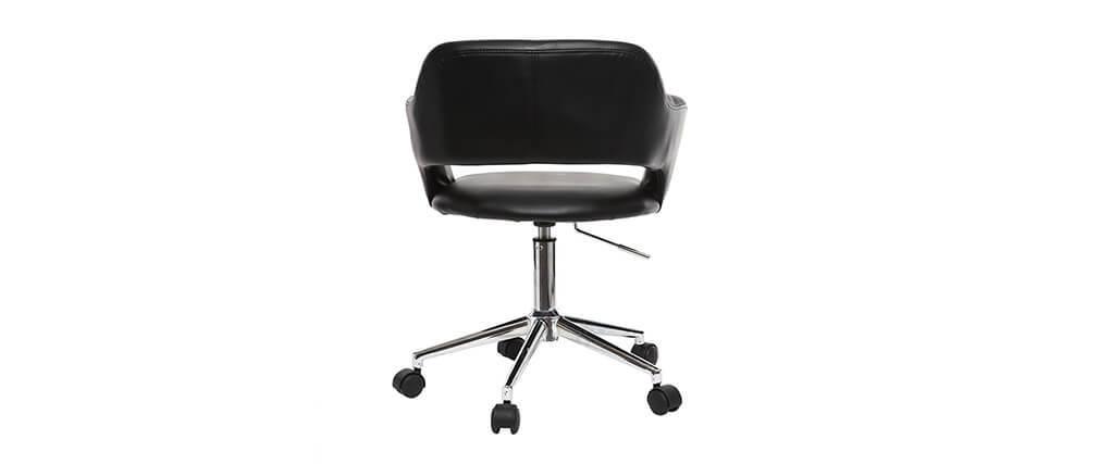 Sillón de escritorio diseño negro JESSY