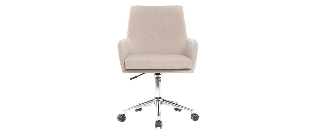 Sillón de escritorio diseño tejido natural SHANA