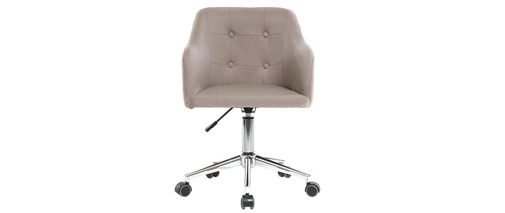 Sillón de escritorio diseño tejidonatural BALTIK