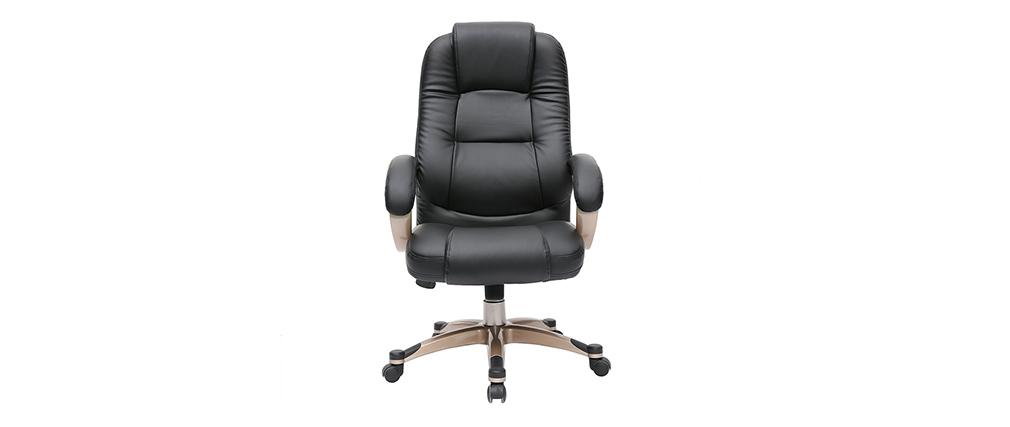 Sillón de escritorio TORONTO color negro