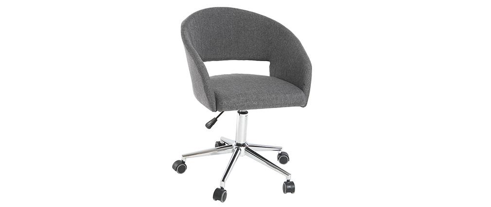 Sillón de oficina diseño gris antracita YLA