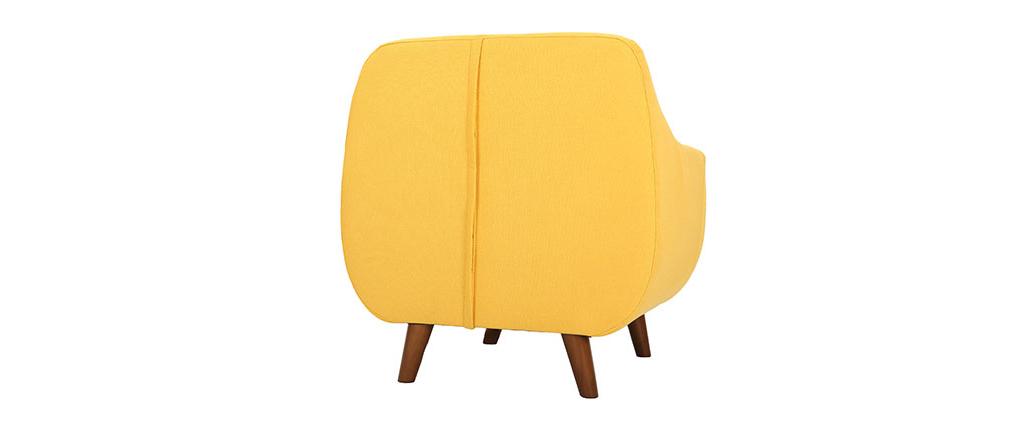 Sillón diseño amarillo YNOK