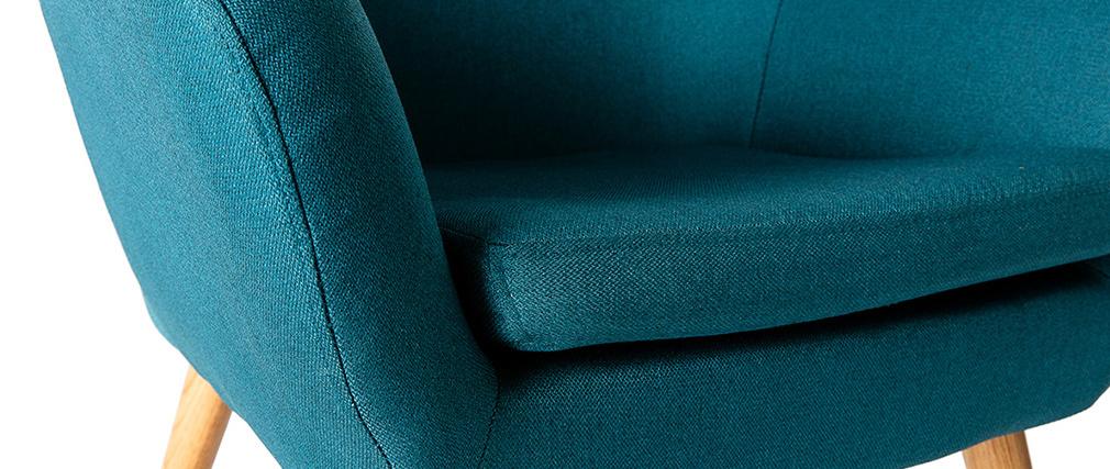 Sillón diseño azul petroleo MIRA