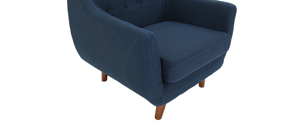 Sillón diseño azul YNOK