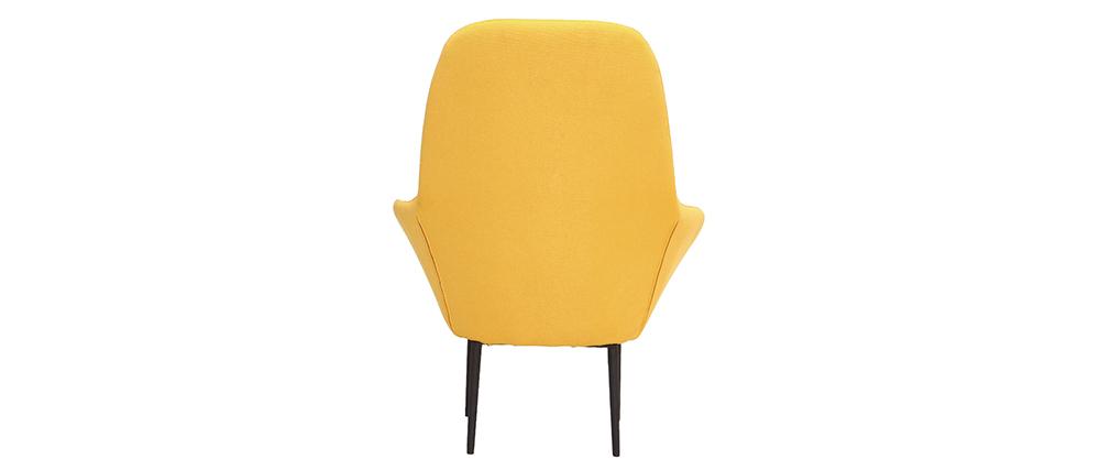 Sillón diseño contemporáneo amarillo OSWALD