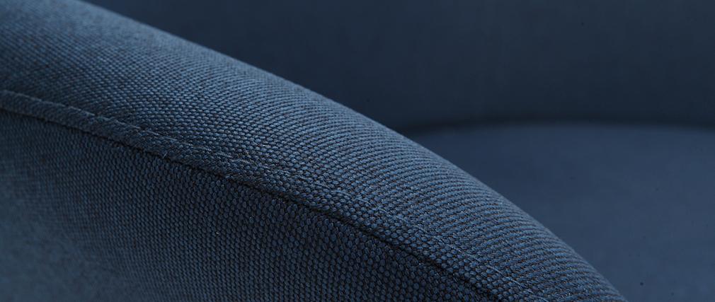 Sillón diseño contemporáneo azul OSWALD