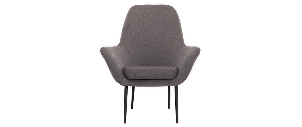 Sillón diseño contemporáneo gris OSWALD